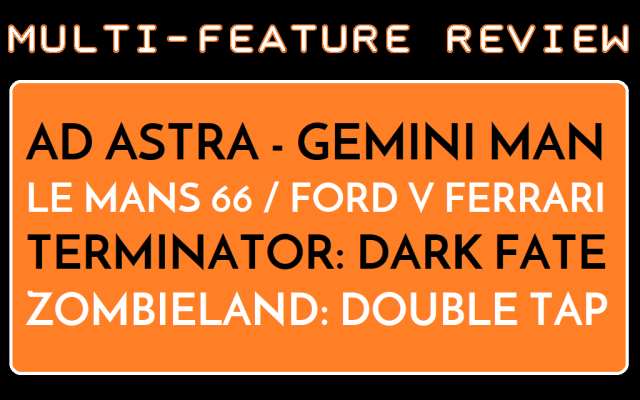 MFR - Ad Astra - Gemini Man - Le mans 66 - Terminator DF - Zombieland 2 - Logo