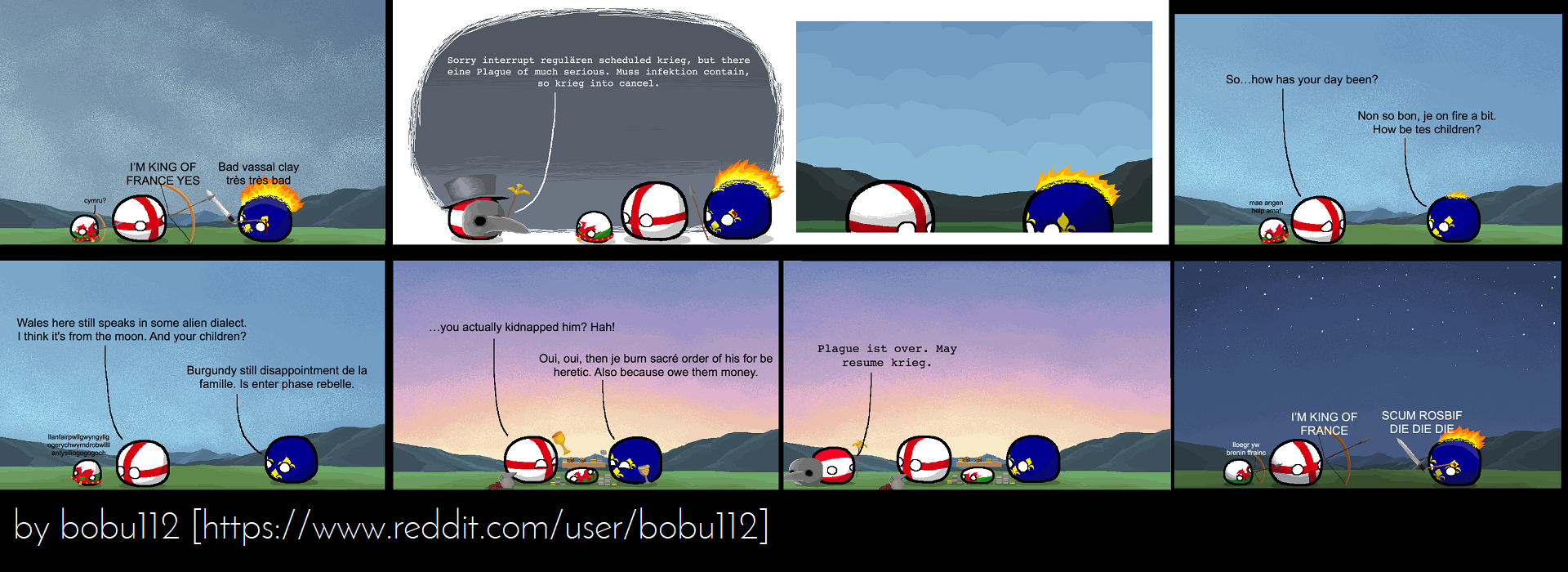 Polandball - Krieg is cancelled by bobu112 - rearranged