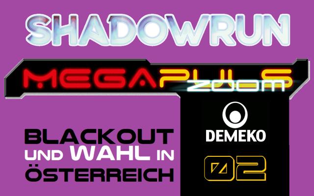 Megapuls Zoom 2 - Blackout und Wahl in Österreich - Logo