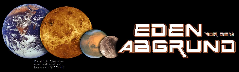 Eden vor dem Abgrund - Logo