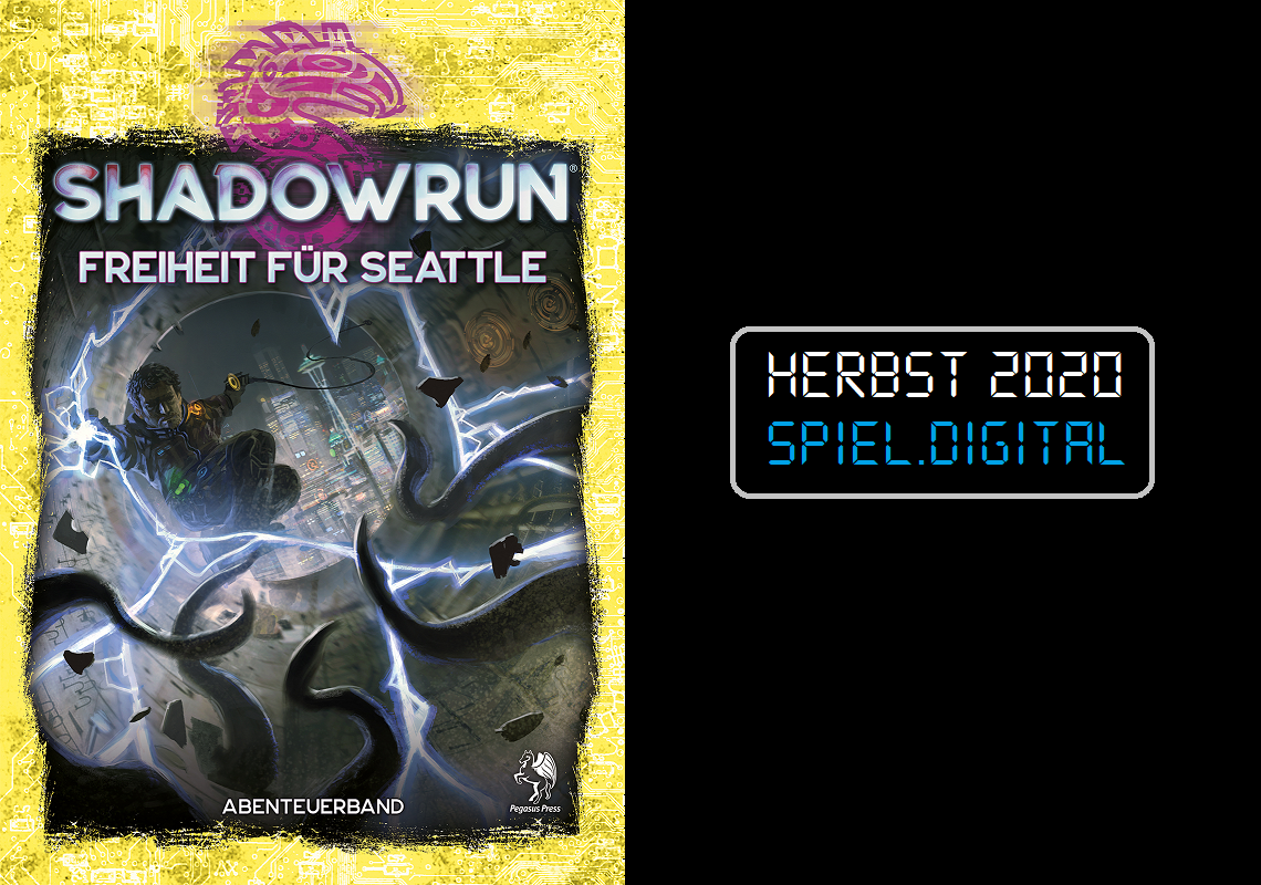Freiheit für Seattle - Herbst 2020 - Cover
