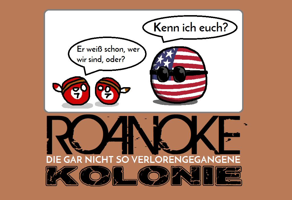 Roanoke - Die gar nicht so verlorengegangene Kolonie - Logo