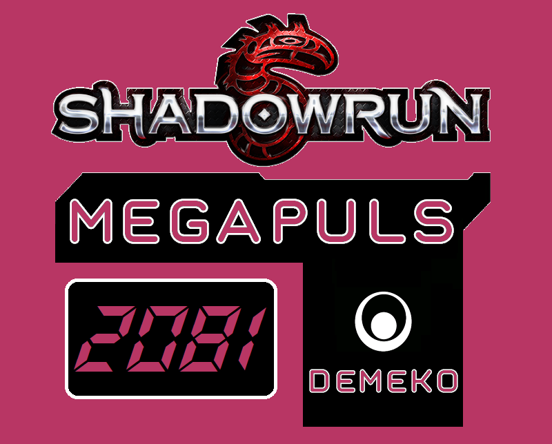 SR5 - Megapuls 2081 - Demeko - Logo