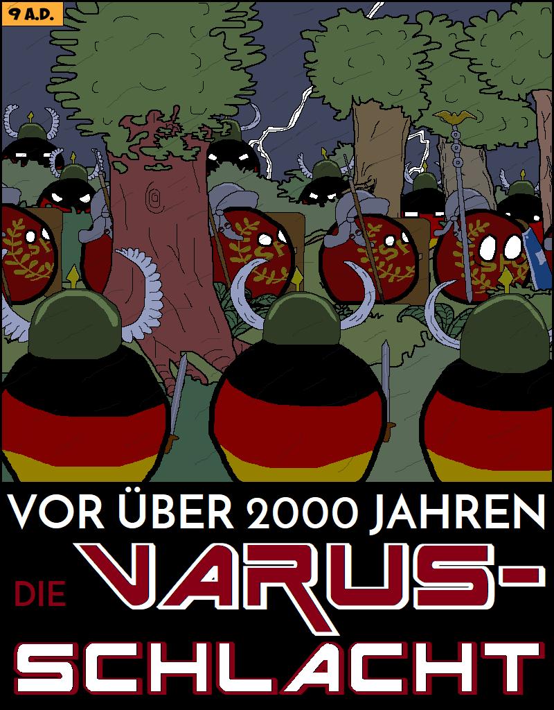 Vor über 2000 Jahren - Varusschlacht - Logo