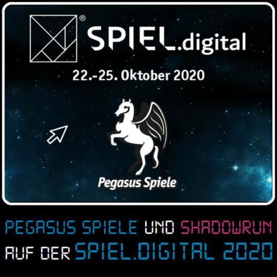 SR6 - Auf der SPIELdigital 2020 - Banner
