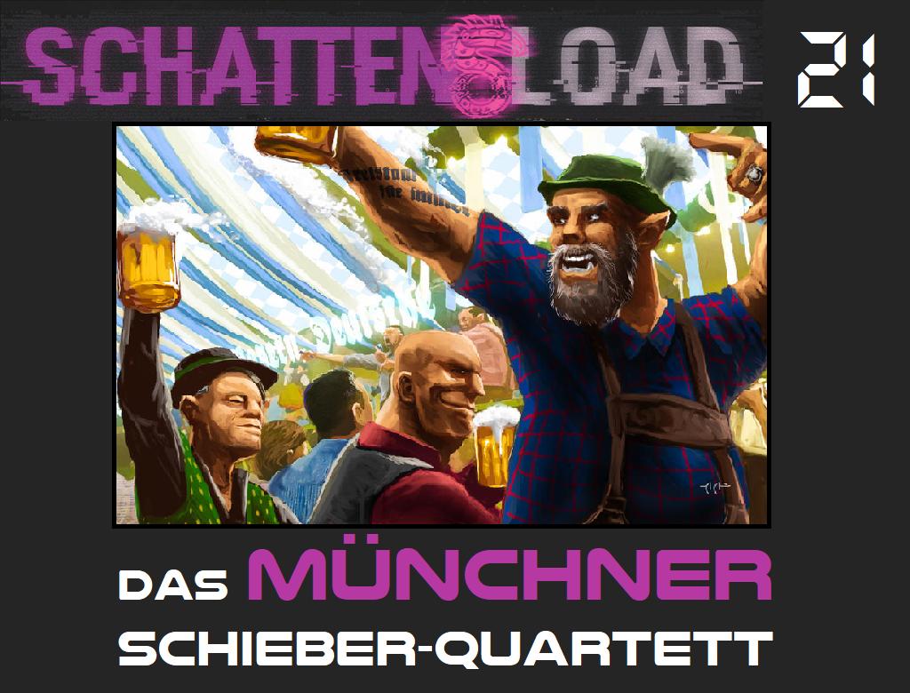 Schattenload 21 - Das Münchner Schieber-Quartett - Logo - Promo
