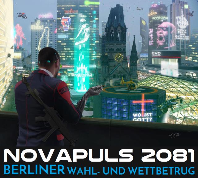 Novapuls 3-2081 - Berliner Wahl- und Wettbetrug - AAS - Logo